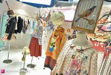 Creative Booth DIsplays / Creative ideas and inspiration for Art Fair booths and shows.