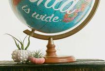 World globe ideas