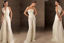 Bridal pant-suit  / wedding pant-suits