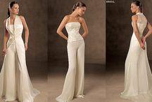 Bridal pant-suit  / wedding pant-suits