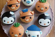 Octonauts / Cupcakes