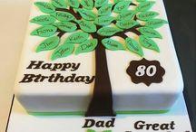 8p birthday cake