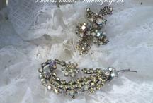 old jewelry strass