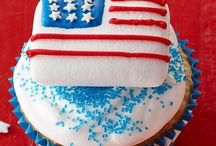 Patriotic. Red, White & Blue! / by JET-PUFFED Marshmallows