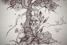 ZenTangle and other drawings....