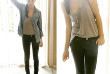 Black Skinny Jean Outfits / by Lexi Marselle