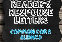 Reader Response Journals / by Cattie Scharm