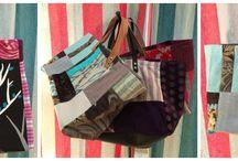 Le creazioni di Malù / Sacche di tessuto realizzate interamente a mano
