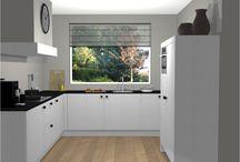 Riverdale; uw nieuwe keuken? / Ter inspiratie hebben wij een keukenopstelling uitgewerkt. Deze is voorzien van AEG keuken inbouwapparatuur en composiet keukenwerkblad. Bekijk de actieprijs op onze website!