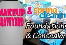 Makeup Graveyard- Spring Cleaning / Makeup Graveyard - Makeup Declutter - Spring Cleaning - Decluttering