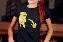 Android Dames T-Shirts