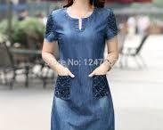 vestidos de mezclilla