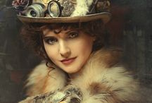 steampunk portraits / Love the artsy concept of steam punk.  Can be steam punk themed, but still so very individualized and unique.