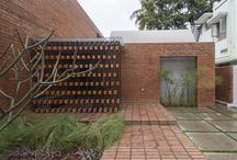 Brick decoration