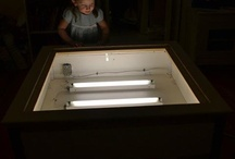diy light tables / by Berried Treasures