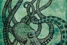 octopus and other sea creatures