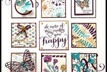 Stampin' Up Samplers