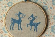 cross stitch / by Denise Tunchel