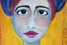 Me-made: miss imperfect / Learning to paint faces. Miss imperfect so they dont have to be perfect!
