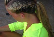Running hairstyles