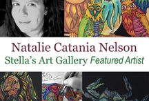 Natalie Catania Nelson / Natalie Catania Nelson is a Stella's Art Gallery Artist. You can see more of her work at www.StellaArtGallery.com   If you would like to purchase any of these piece email at StellasArts@gmail.com