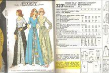 Vintage Clothing Designs & Patterns / Some Vintage clothing Designs and Patterns we found while browsing.