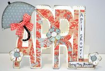 WORD SHAPED CARDS - THE CUTTING CAFE