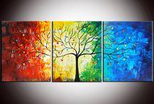 Baum bunt
