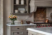 keukens en interieur huis.