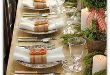 Decor mesas para receber