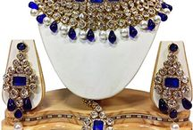 Polki Kundan Bridal Bollywood Necklace Set