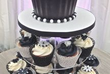 Black and Gold Cupcake ideas