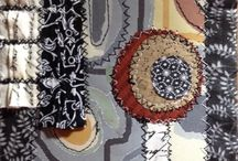 My Fabric Art / Mixed Media / The use of fabric alone or alongside paper or other materials to create art.