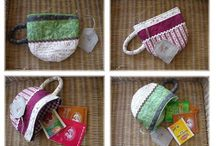 Sew tea wallet