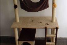 Decoración: Gimnasio para gatos