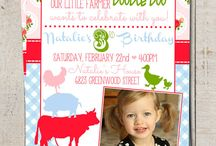 Farmed themed Girls Bday party