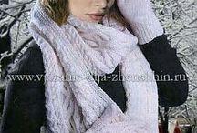 головные уборы шарфы