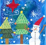 ArtEd- Christmas, winter / Lots of things for teaching art lessons.