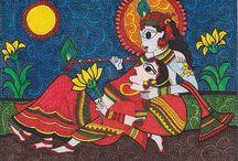 Madhubani and Kalamkari