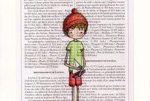 Dessins, illustrations par Nélia