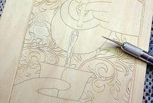 Woodcut designs