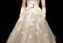 Autumnal wedding gowns