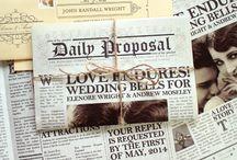 newspaper invitation
