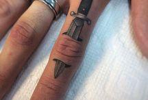 Knife tatoo