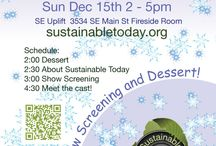 Sustaining Cascadia / The Sustaining Cascadia events screen our TV show and are held quarterly