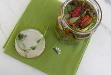 Pickled Vegetables / Preserving the bounty of fruit or vegetables