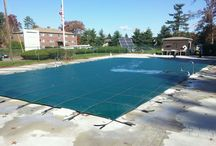 Loop-Loc Safety Cover / Just some of our Loop-Loc coverered pools.