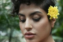 Flower Portrait Photography / Portraits that have Flowers integrated with in them