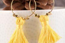 tassell earrings
