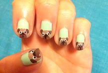 nails - fuzzies